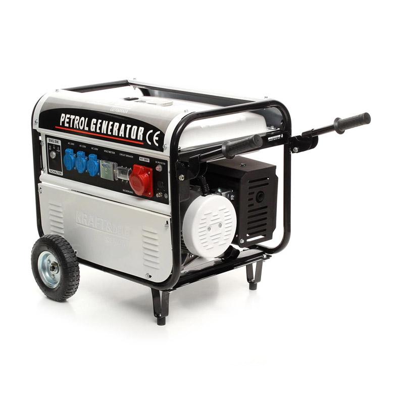 Φορητή Τριφασική Ηλεκτρογεννήτρια Βενζίνης 5000 W 12/230/380 V Kraft&Dele KD-108 - KD-108