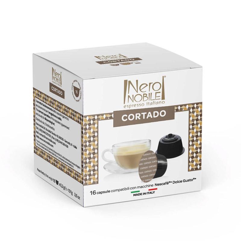 Κάψουλες Καφέ Neronobile Cortado - DG-NER Cortado