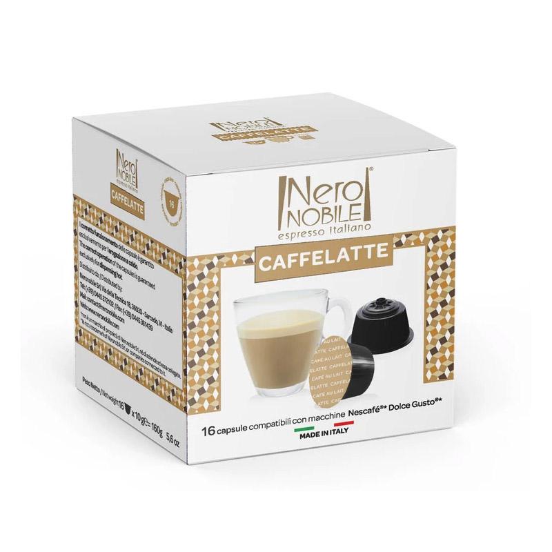Κάψουλες Καφέ Neronobile Caffe Latte - DG-NER Caffelatte