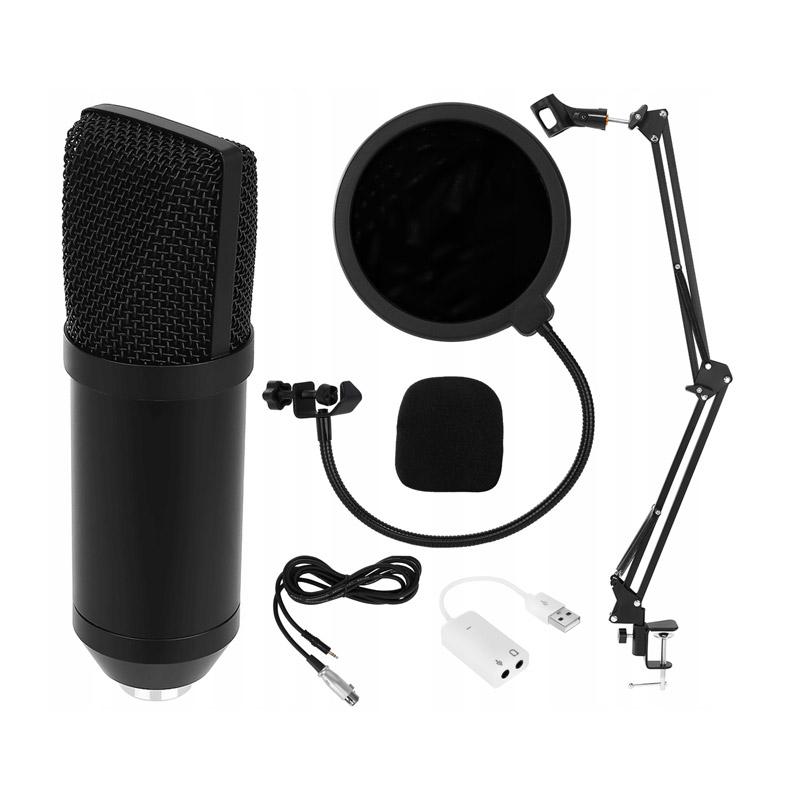 Σετ Studio με Μικρόφωνο, Βάση Στήριξης και Anti-Pop Φίλτρο SPM 8957 - 8957