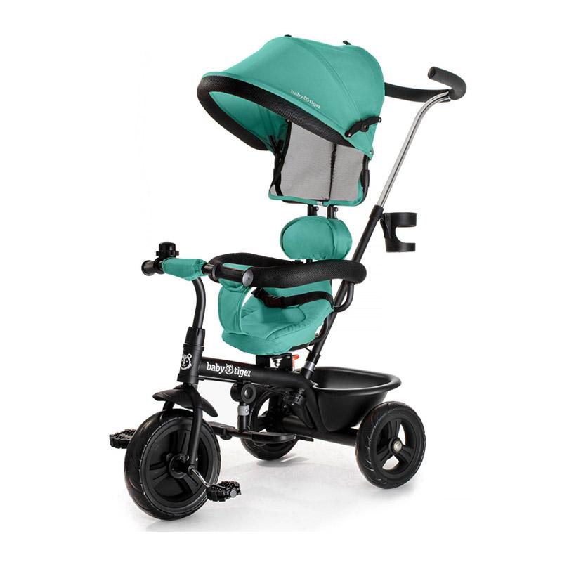 Τρίκυκλο Παιδικό Ποδήλατο - Καρότσι Baby Tiger Fly Χρώματος Πράσινο - BTRFLYGREB0000