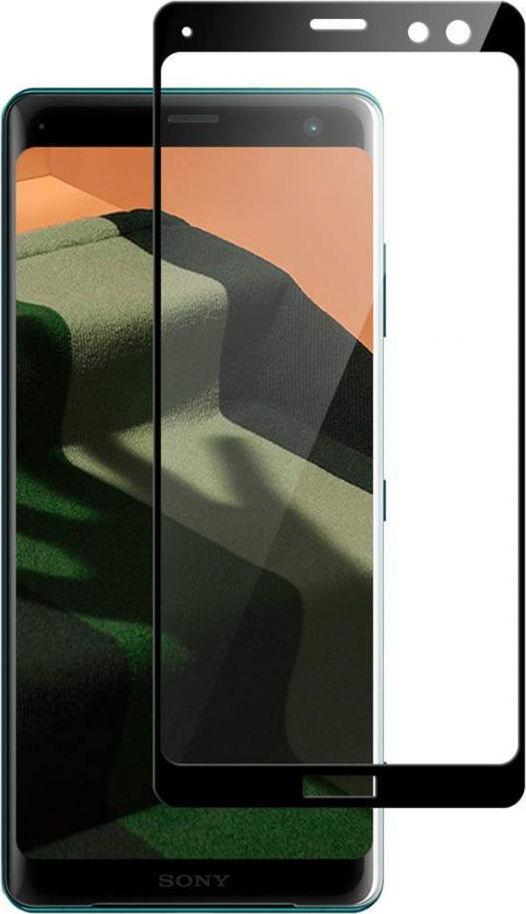 Full Cover Tempered Glass Sony Xperia XZ3 Black