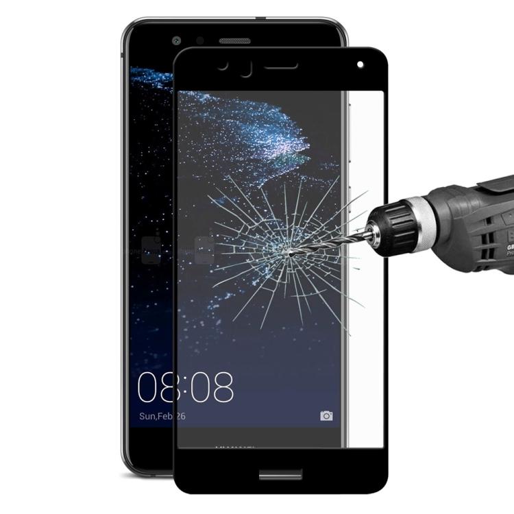 ENKAY Full Cover Tempered Glass Τζαμάκι Γυαλί Προστασίας Huawei P10 Lite Black