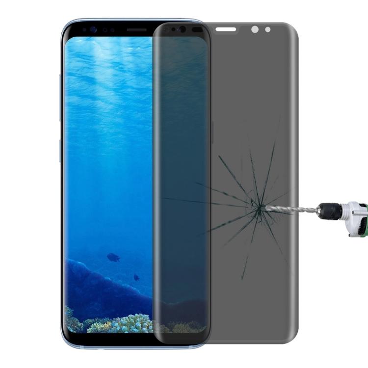 Full Cover Tempered Glass Τζαμάκι Γυαλί Προστασίας Samsung Galaxy S8 / G950 3D - Διάφανο Αντιθαμβωτικό