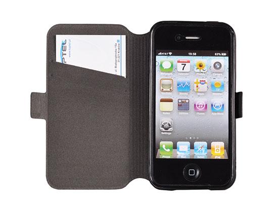 Θήκη Telone Book Pocket Sony Xperia M4 Aqua - Μαύρη