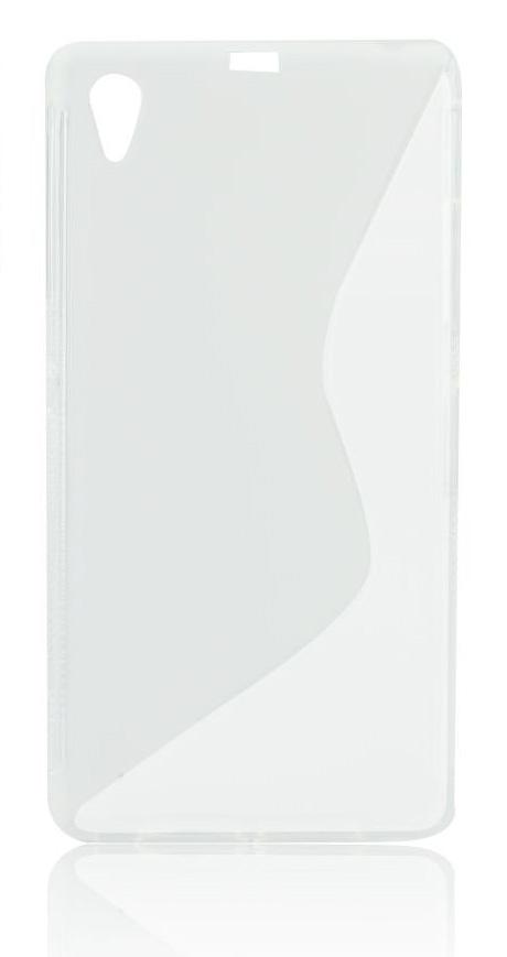 Θήκη Σιλικόνης TPU S line Sony Xperia M4 Aqua  - Διάφανη