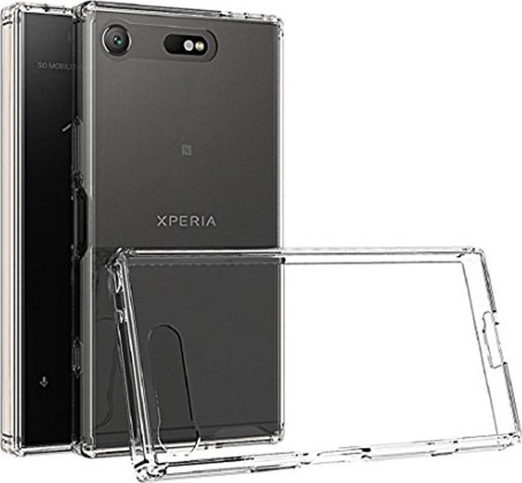 Θήκη Sony Xperia XZ1 Compact G8441 Ultra Slim TPU Σιλικόνης 0.3mm Διάφανη