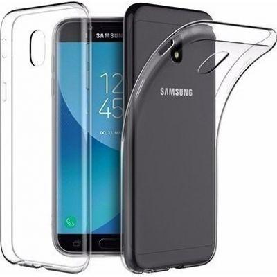 Θήκη Samsung Galaxy J7 J730 2017 Ultra Slim TPU Σιλικόνης 0.3mm Διάφανη