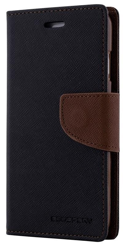 MERCURY Θήκη Fancy Diary για Samsung Galaxy Note 5, Black/Brown - MERCURY 7752