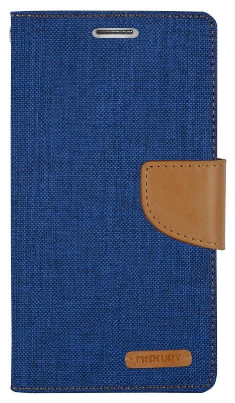 MERCURY Θήκη Canvas Diary για LG Optimus G4, Blue - MERCURY 7537
