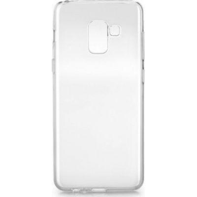 Θήκη Samsung A8 2018 A530 Ultra Slim TPU Σιλικόνης 0.3mm Διάφανη