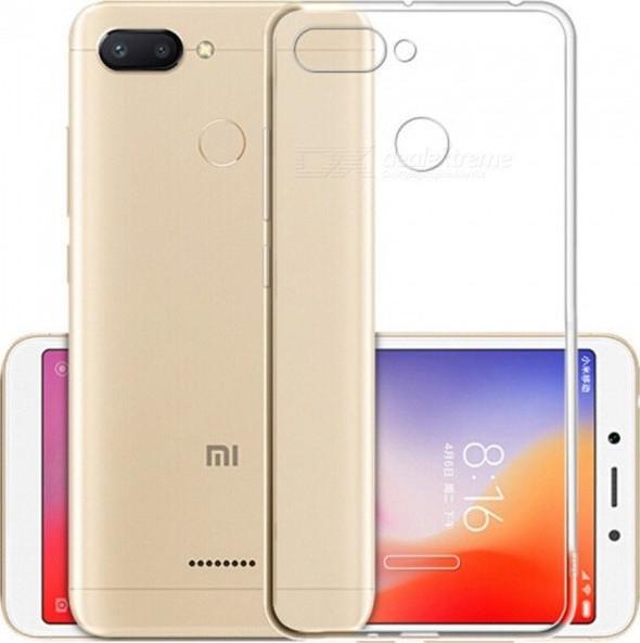 Θήκη Xiaomi Mi 8 Lite Ultra Slim TPU Σιλικόνης 0.3mm Διάφανη