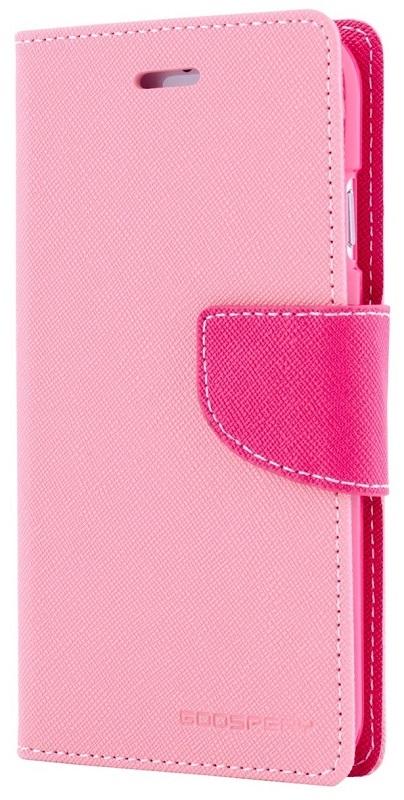 MERCURY Θήκη Fancy Diary για Samsung Galaxy S6 edge, Pink/Hot Pink