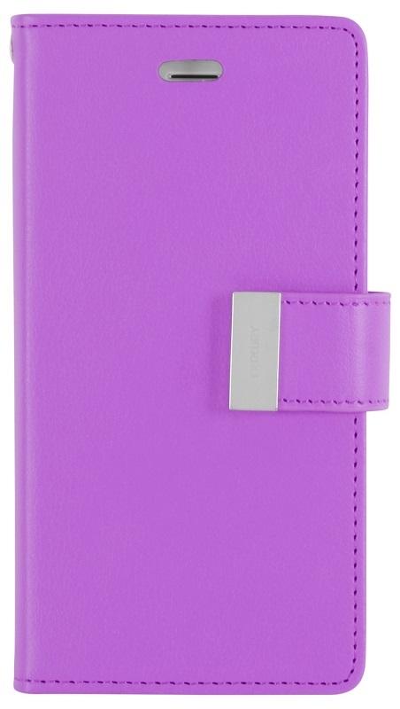 MERCURY Θήκη Rich Diary για Samsung Galaxy Note 4, Purple