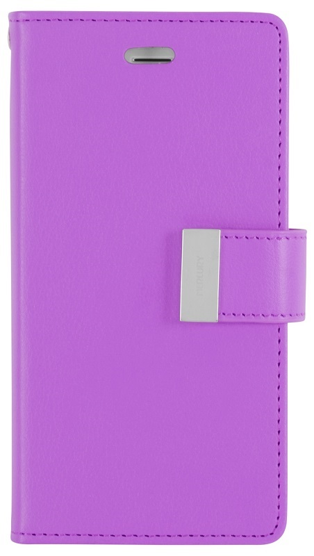MERCURY Θήκη Rich Diary για Samsung Galaxy Note 4 edge, Purple
