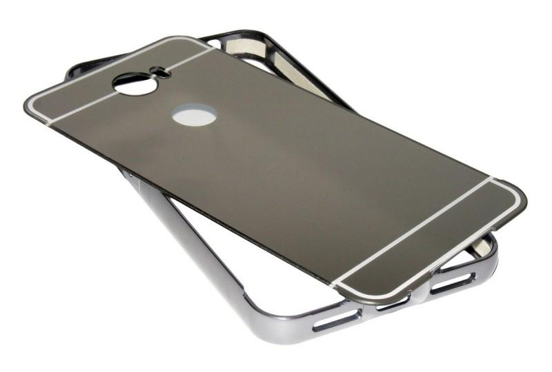 POWERTECH Θήκη Metal Mirror για Huawei Y3II, Black