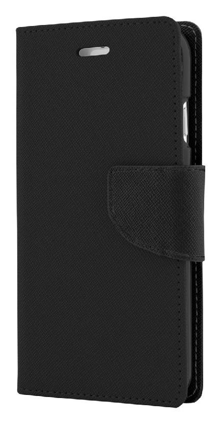 POWERTECH Θήκη Fancy Book για Huawei Y6II/Honor 5A, Black