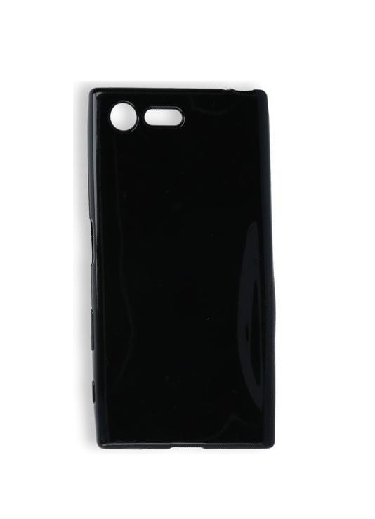 Θήκη Sony Xperia X Compact F5321 Ultra Slim TPU Σιλικόνης 0.3mm Μαύρη