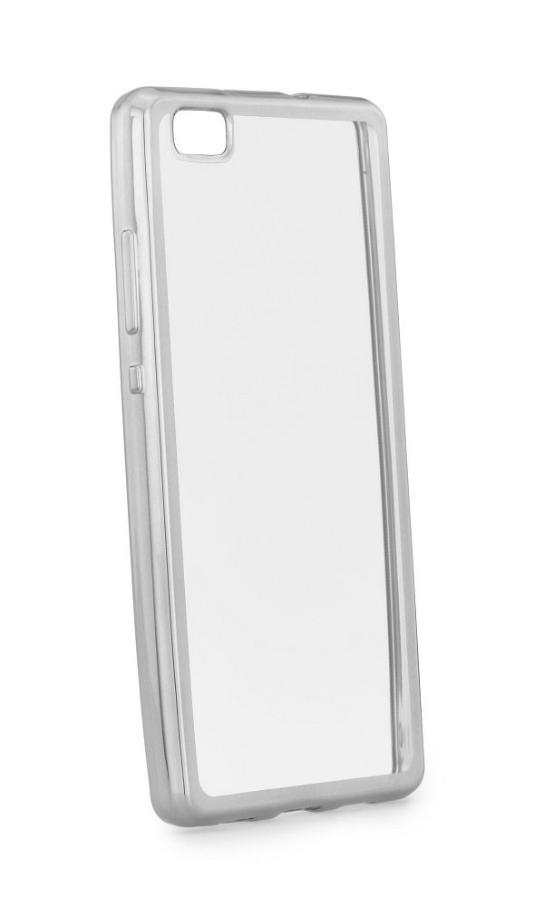 POWERTECH Θήκη Metal TPU για Huawei P8 Lite 2017, Silver