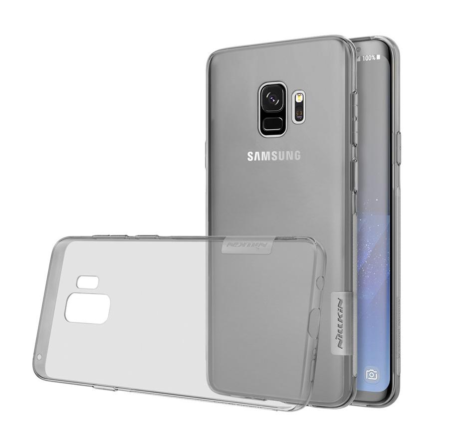 NILLKIN Θήκη Nature TPU Gel Ultra Slim για Samsung Galaxy S9, γκρι