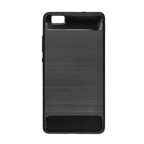 POWERTECH Θήκη Carbon Flex για Xiaomi Mi 6, Black
