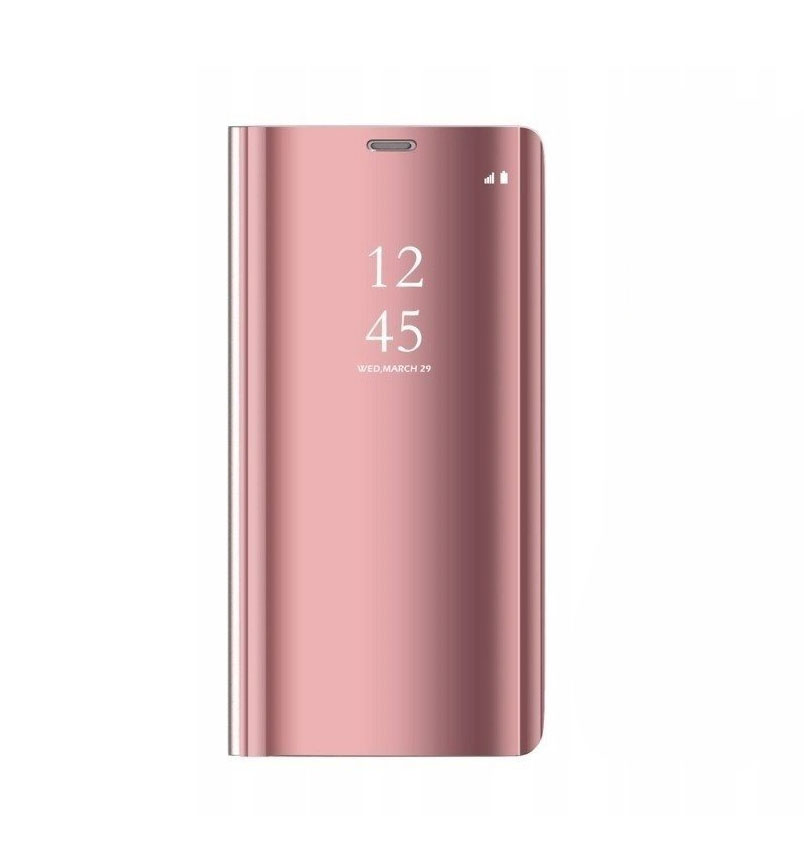 Θήκη Clear View Flip Case για Huawei P20 Lite Pink