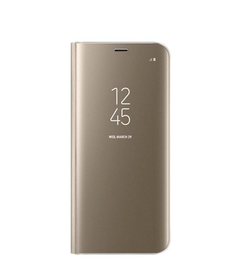 Θήκη Clear View Flip Case για Huawei P20 Lite Gold