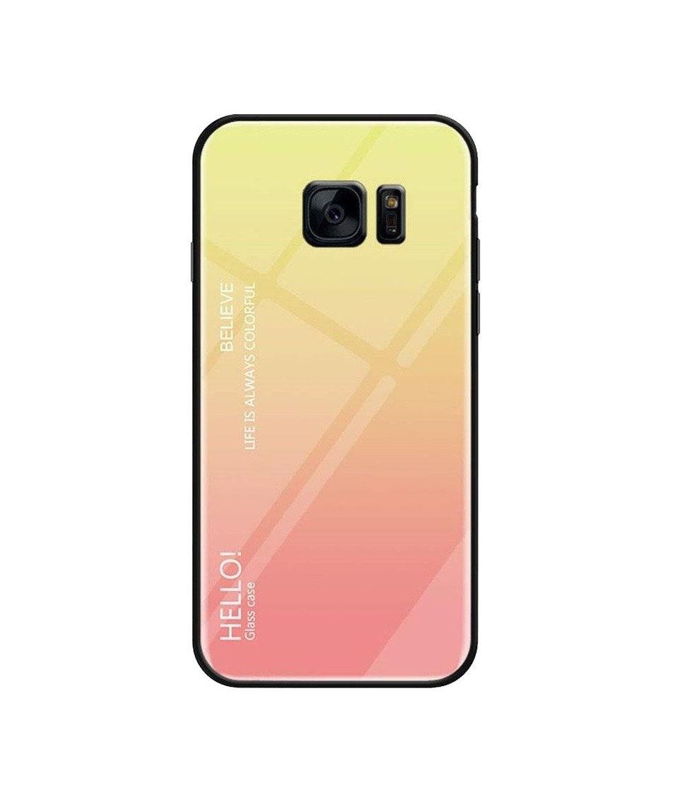 Θήκη Glass Gradient Case για Xiaomi Redmi 8A Light Pink
