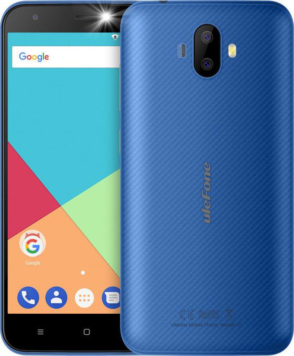 Ulefone S7 16GB Dual Blue ΕU (Δώρο Θήκη) Πληρωμή έως 12 δόσεις