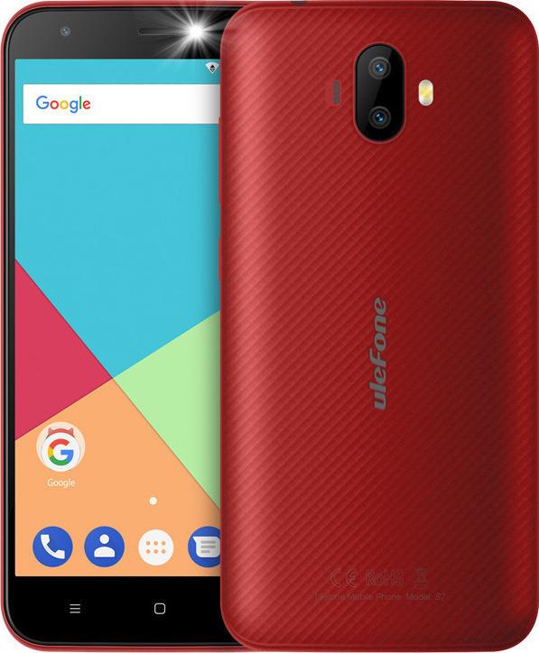 Ulefone S7 16GB Dual Red EU (Δώρο Θήκη) Πληρωμή έως 12 δόσεις