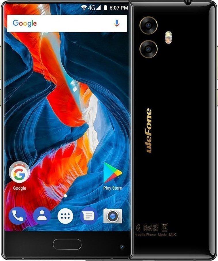Ulefone Mix 64GB Dual Black EU (Δώρο Screen Protector + Θήκη + Ring Holder 360°) Πληρωμή έως 12 δόσεις