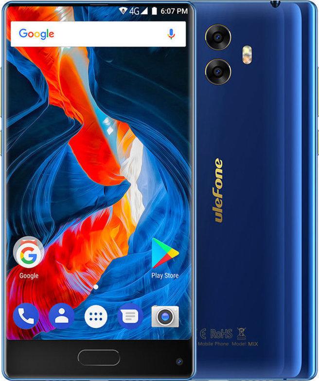 Ulefone Mix 64GB Dual Blue EU (Δώρο Screen Protector + Θήκη + Ring Holder 360°) Πληρωμή έως 12 δόσεις