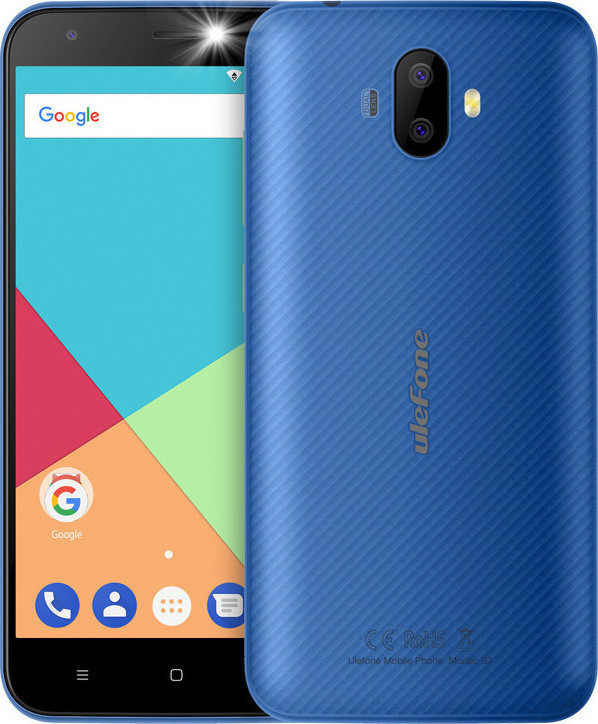 Ulefone S7 8GB Dual Blue EU Πληρωμή έως 12 δόσεις