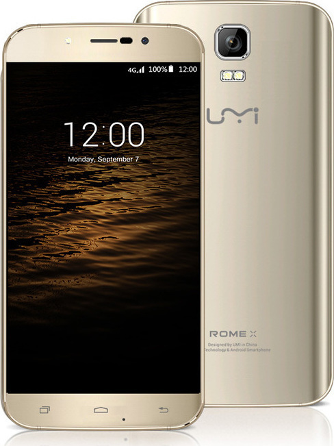 Umi Rome X Dual 3G 8GB Gold