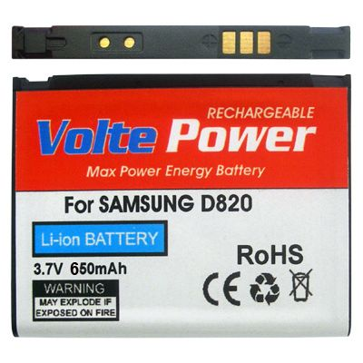 ΜΠΑΤΑΡΙΑ SAMSUNG D820/Z510 650mAh Li-ion VoltePower