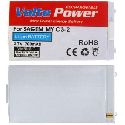 ΜΠΑΤΑΡΙΑ SAGEM MYC3-2/MYC4-2 700mAh Li-ion VoltePower