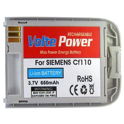 ΜΠΑΤΑΡΙΑ SIEMENS CF110 SILVER 650mAh Li-ion VoltePower