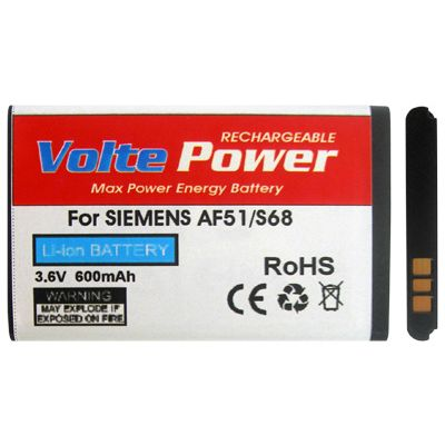 ΜΠΑΤΑΡΙΑ SIEMENS S68/AF51 600mAh Li-ion VoltePower