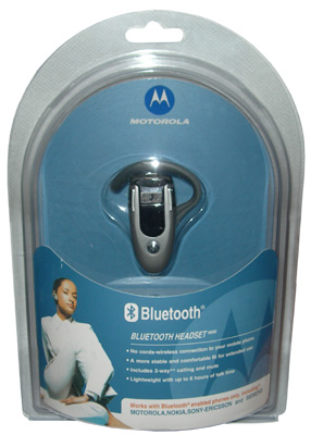 BLUETOOTH MOTOROLA H500 OR