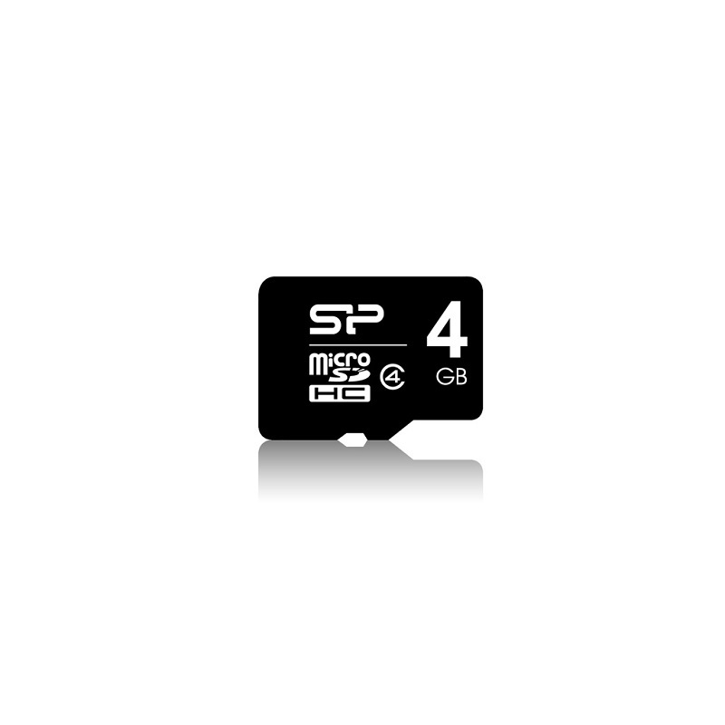 micro SDHC 4GB CLASS 4 ΧΩΡΙΣ ΑΝΤΑΠΤΟΡΑ SILICON POWER