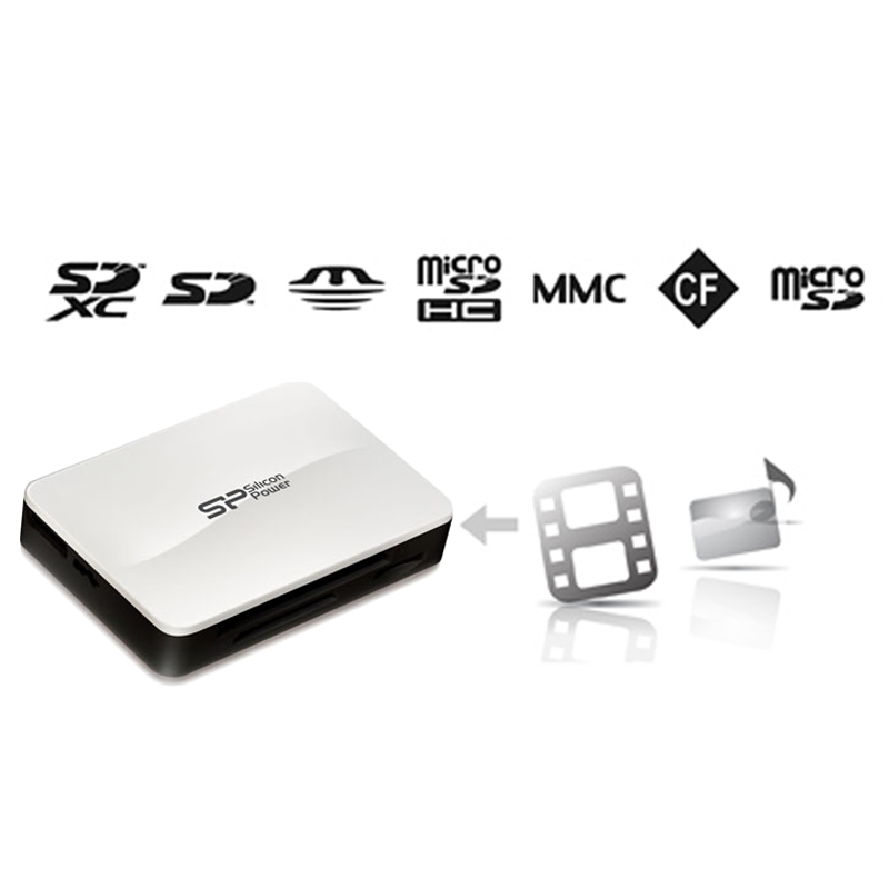 CARD READER ALL IN 1 USB 3.0(SDHC κ.α) SILICON POWER
