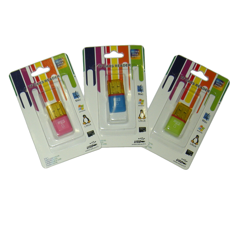 CARD READER MICRO SD USB 2.0 - USB FLASH DRIVE MINI