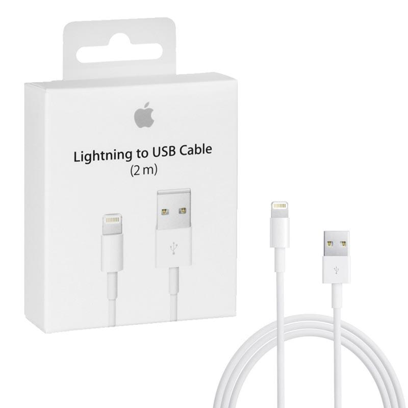 APPLE LIGHTNING MD819ZM/A USB ΦΟΡΤΙΣΤΗΣ-DATA 2m WHITE PACKING OR