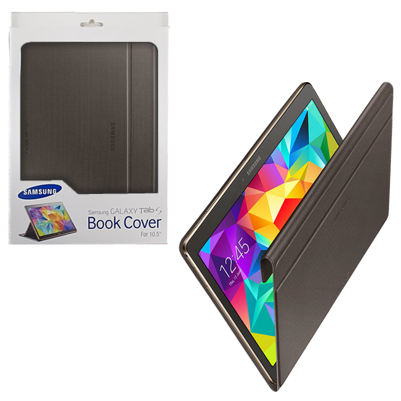 ΘΗΚΗ SAMSUNG T800 GALAXY TAB S 10.5 EF-BT800 BOOK COVER BRONZEOR
