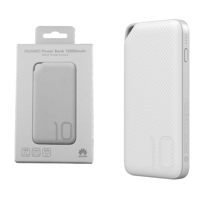 HUAWEI AP08Q POWER BANK 10000mAh 2.A TYPE C+MICRO USB WHITE OR