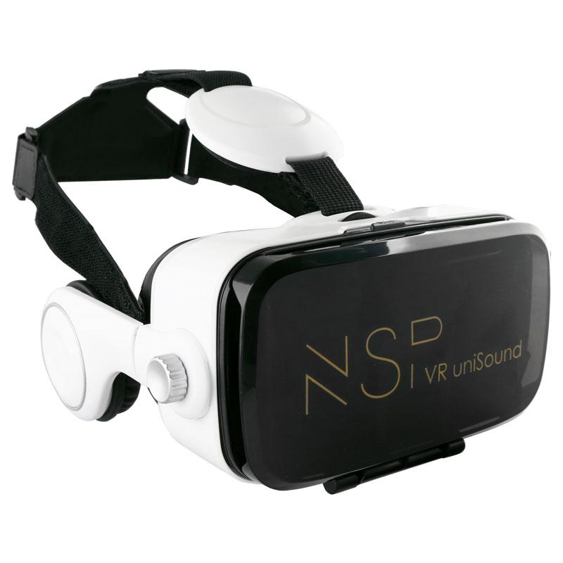 "NSP N620s VR GLASSES 3D VR UNISOUND ΜΕ ΑΚΟΥΣΤΙΚΑ 3.5""-6.2"""