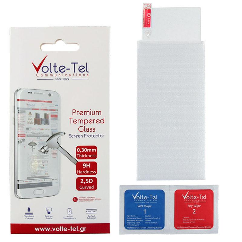 "VOLTE-TEL TEMPERED GLASS SONY XPERIA XZ1 5.2"" 9H 0.30mm 2.5D FULL GLUE"