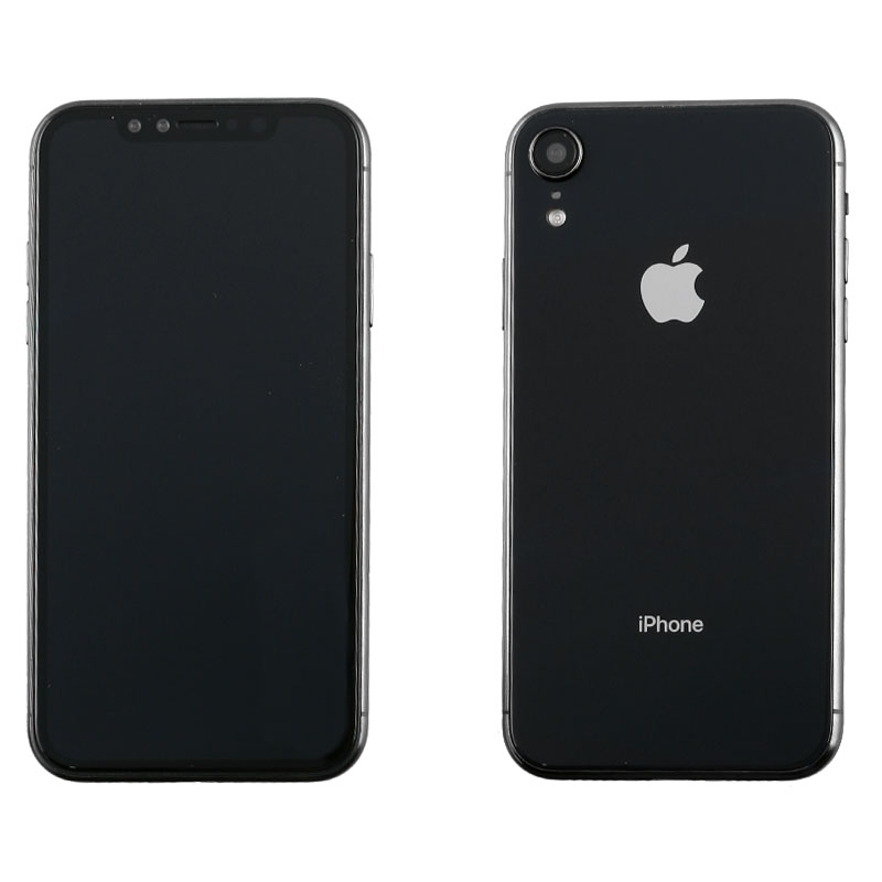 "DUMMIES IPHONE XR 6.1"" GLASS BATTERY COVER BLACK"