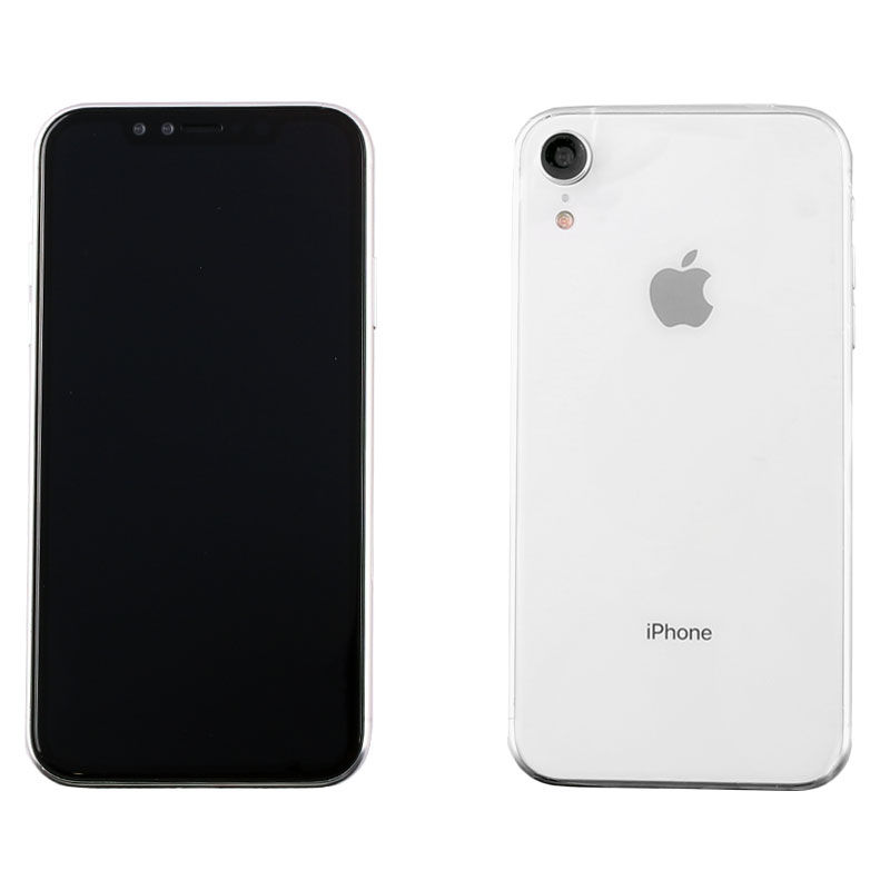 """DUMMIES IPHONE XR 6.1"""" GLASS BATTERY COVER WHITE"""