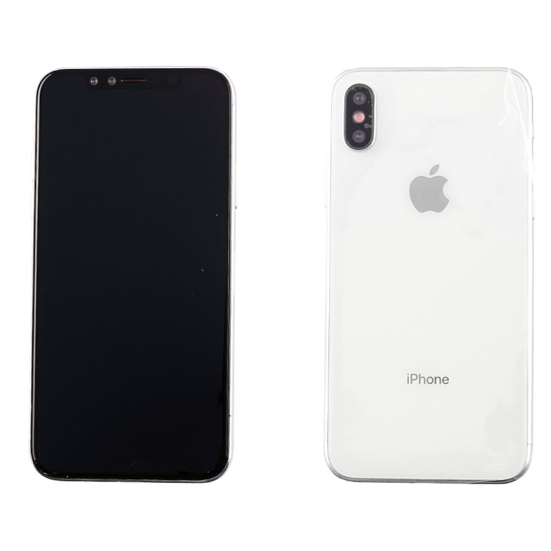 """DUMMIES IPHONE XS 5.8"""" GLASS BATTERY COVER WHITE"""
